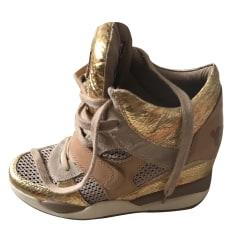 Sneakers ASH Gold, Bronze, Kupfer