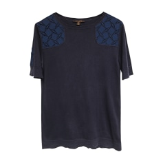 Top, T-shirt LOUIS VUITTON Blue, navy, turquoise
