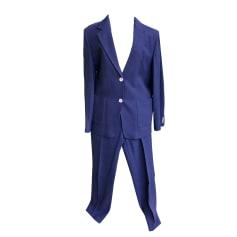Tailleur pantalon MAX MARA Bleu, bleu marine, bleu turquoise