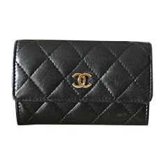 Coin Purse CHANEL Black