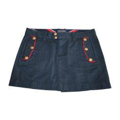 Gonna di jeans RALPH LAUREN Blu, blu navy, turchese