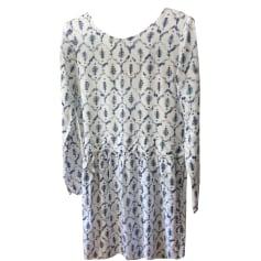 Robe mi-longue BALZAC PARIS Blanc, blanc cassé, écru