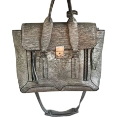 Leather Handbag 3.1 PHILLIP LIM Silver
