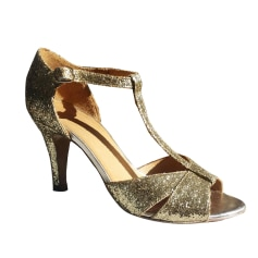 Peep-Toe Pumps SÉZANE Golden, bronze, copper