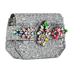 Clutch SHOUROUK Silver