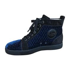 Baskets CHRISTIAN LOUBOUTIN Bleu