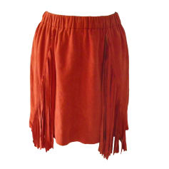 Mini Skirt BEL AIR Red, burgundy