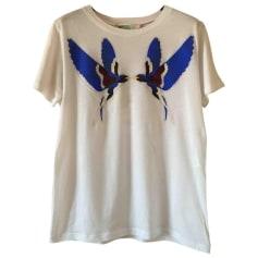 Top, tee-shirt STELLA MCCARTNEY Blanc, blanc cassé, écru