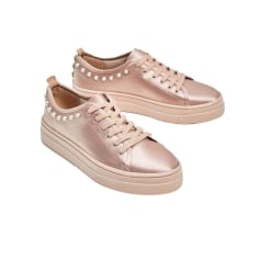 Sneakers ZARA Pink, fuchsia, light pink
