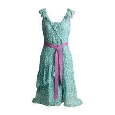 Midi-Kleid MARC JACOBS Grün