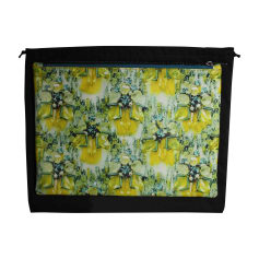 Leather Clutch MARY KATRANTZOU Yellow