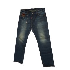 Straight-Cut Jeans  DSQUARED2 Blau, marineblau, türkisblau