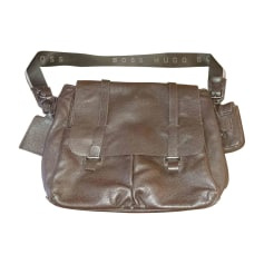 Satchel HUGO BOSS Brown