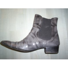Bottines & low boots à talons PERTINI Gris, anthracite