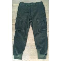 Pantalon droit H&M Kaki