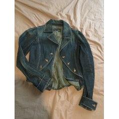 Veste en jean ARMANI JEANS Bleu, bleu marine, bleu turquoise
