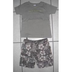 Shorts Set, Outfit MARQUE INCONNUE Khaki
