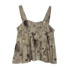 Top, t-shirt MARNI Beige, cammello