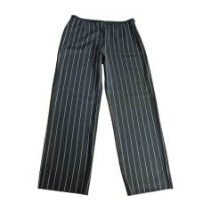 Pantalone largo ARMANI COLLEZIONI Nero