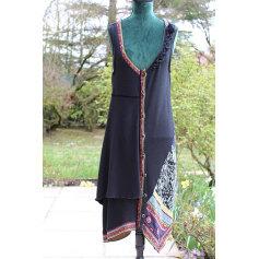 Robe tunique AVENTURES DES TOILES Noir