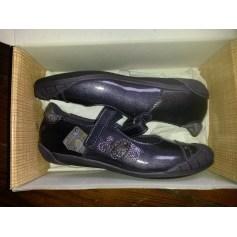 Chaussures à scratch ASTER Violet, mauve, lavande