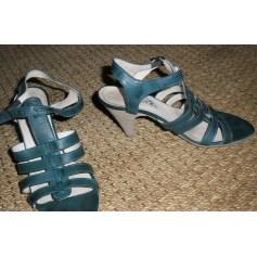 Sandales à talons PASTELLE Bleu, bleu marine, bleu turquoise