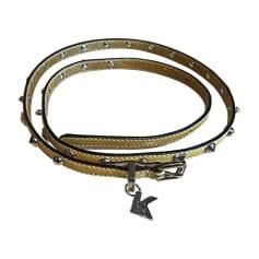 Skinny Belt KARL LAGERFELD Yellow