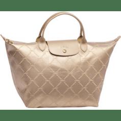 Non-Leather Handbag LONGCHAMP DORÉ POUDRÉ