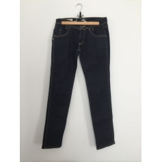Jeans slim 55DSL Bleu, bleu marine, bleu turquoise