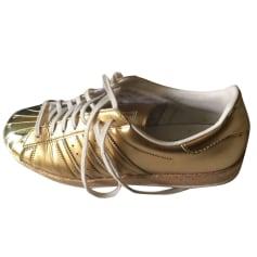 Sneakers ADIDAS Golden, bronze, copper