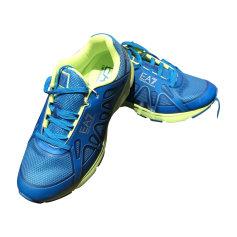Baskets ARMANI EA7 Bleu, bleu marine, bleu turquoise