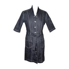 Robe en jeans SONIA RYKIEL Gris, anthracite