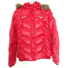 Down Jacket PEPE JEANS Red, burgundy