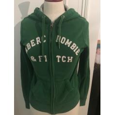 Sweat ABERCROMBIE & FITCH Vert