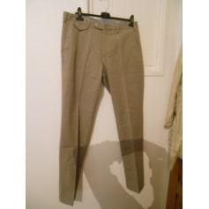 Pantalon droit MASSIMO DUTTI Gris, anthracite