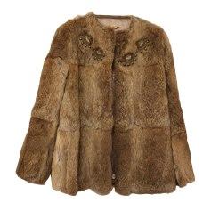 Fur Coat SANDRO Multi