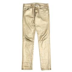 Skinny Jeans PINKO Golden, bronze, copper