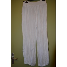 a05176331e Wide Leg Pants JS MILLENIUM White