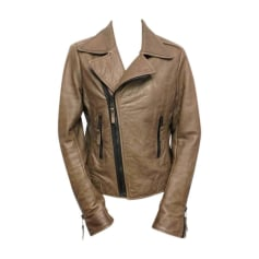 Zipped Jacket BALENCIAGA Brown