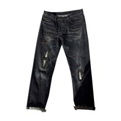 Jeans droit GUCCI Noir