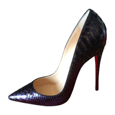 Pumps, Heels CHRISTIAN LOUBOUTIN So Kate Blue, navy, turquoise