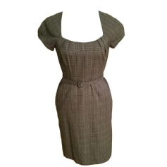 Robe courte BANANA REPUBLIC Gris, anthracite