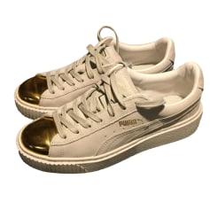 Sneakers PUMA Beige, camel