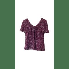 Blouse SAINT LAURENT Purple, mauve, lavender