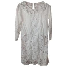 Robe tunique ABERCROMBIE & FITCH Blanc, blanc cassé, écru