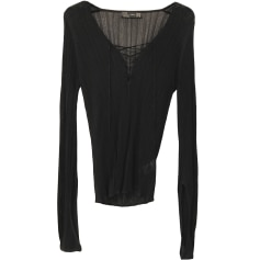 Top, tee-shirt ZARA Noir