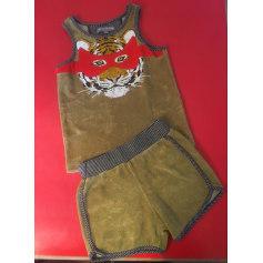 Shorts Set, Outfit MILK ON THE ROCKS Khaki