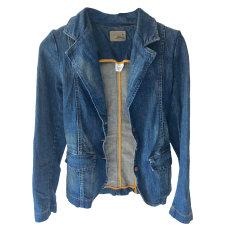 Veste en jean SESSUN Bleu, bleu marine, bleu turquoise