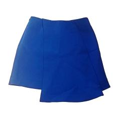 Gonna corta BALENCIAGA Blu, blu navy, turchese