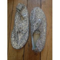 Chaussures à lacets  ANNIEL Argenté, acier